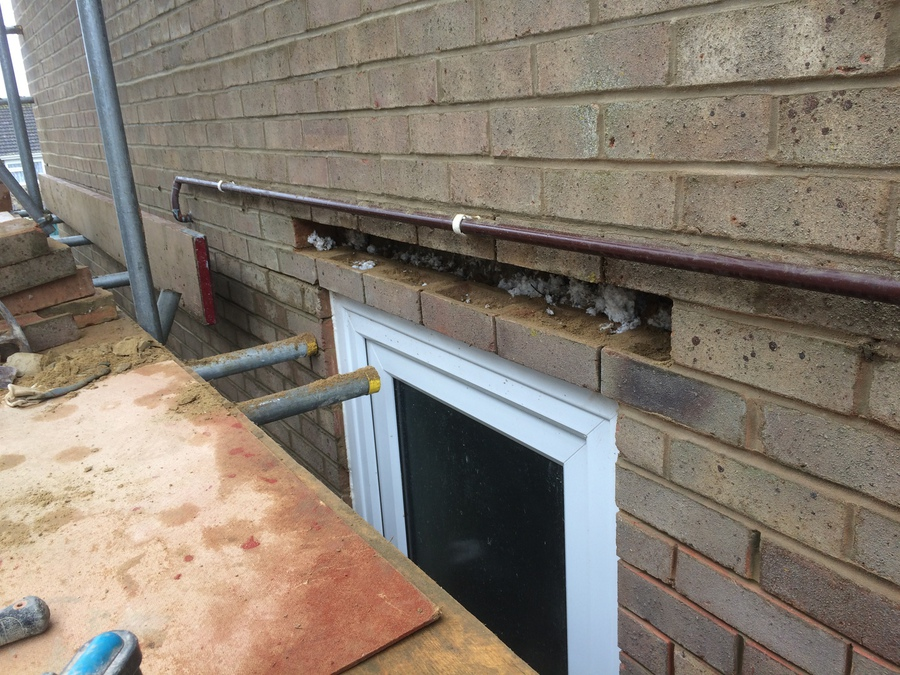 Repointing Brickwork Cavity Trays